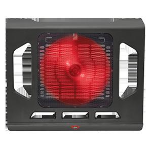 """Trust GXT 220  Cooler Portátil 17"""" LED Rojo"""