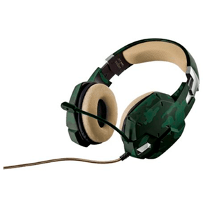 Trust GXT 322C Green Camouflage - Auricular Gaming