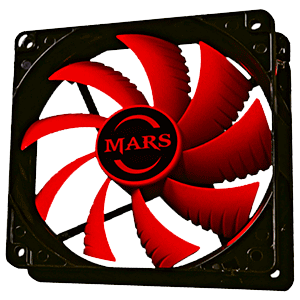 Mars Gaming MF12 120mm Rojo