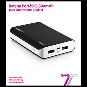Batería Portátil 8800mAh GAMEware