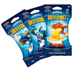 Skylanders Battlecast Pack Potenciador