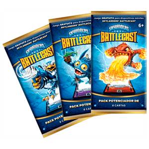 Skylanders Battlecast Box Pack Potenciador