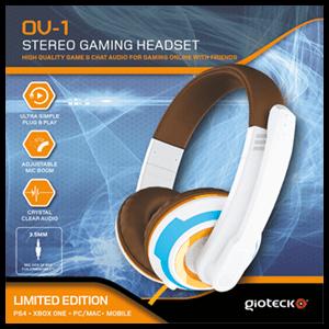 Auriculares Gioteck OV-1 PS4-XONE-PC