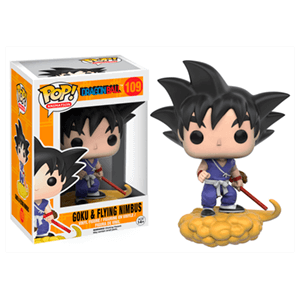 Figura Pop Dragon Ball: Goku con Kinto