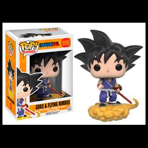 Figura Pop Dragon Ball: Goku con Kinto