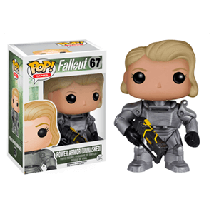 Figura Pop Fallout Mujer Servoarmadura sin Casco Ed. Lim
