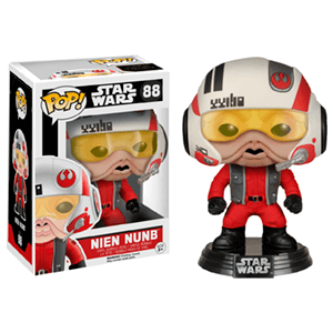 Figura Pop Star Wars: Nien Nunb con Casco Ed. Lim