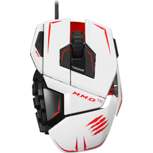 Mad Catz M.M.O.TE Mouse White