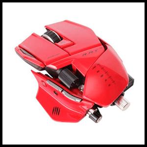 MadCatz R.A.T.9 Mouse Rojo