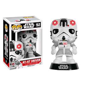 Figura Pop Star Wars: Conductor de AT-AT