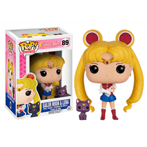 Figura Pop Sailor Moon: Sailor Moon & Luna