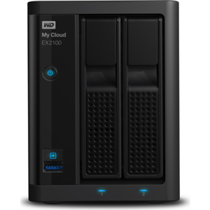 Western Digital My Cloud EX2100 WDBWAZ0000NBK-EESN