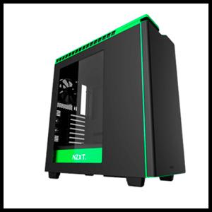 NZXT H440 V2 Negra/Verde - Ventana