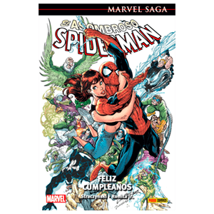 Marvel SAGA. El Asombroso Spiderman Feliz Cumpleaños