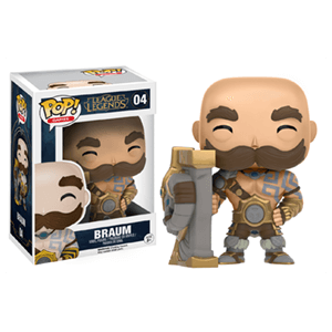Figura Pop League of Legends: Braum