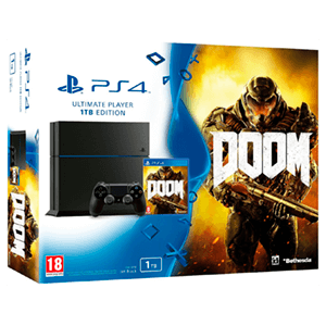 Playstation 4 1Tb + Doom
