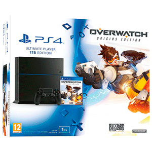 Playstation 4 1Tb + Overwatch