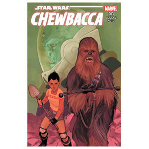 Star Wars: Chewbacca Nº 3