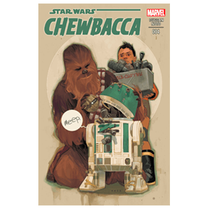 Star Wars: Chewbacca Nº 4