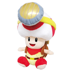 Peluche Capitán Toad 18cm