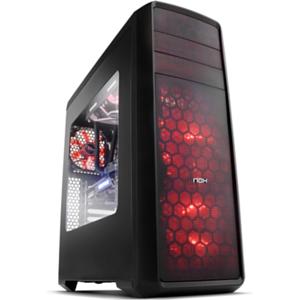 Nox Coolbay ZX LED Rojo - Ventana