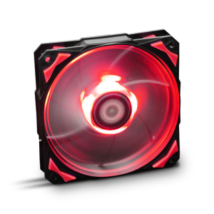 Nox H Fan Led Rojo