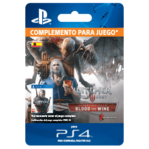 The Witcher 3: Wild Hunt – Blood and Wine PS4