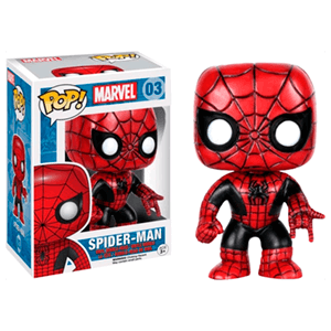 Figura Pop Spiderman Negro y Rojo Ed. Limitada