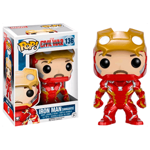Figura Pop Iron man sin Casco