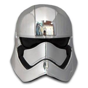 Casco Star Wars: Capitán Phasma