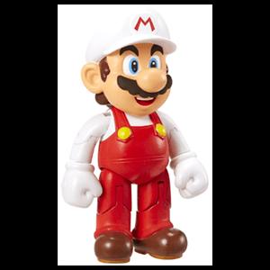 Figura Nintendo 10cm: Mario con Flor de Fuego