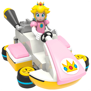 Figura Mario Kart 8 KNEX: Peach