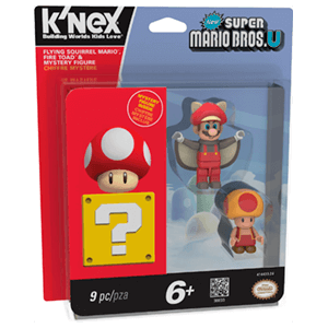 Pack de 3 Figuras Mario KNEX: Flying Squirrel Mario