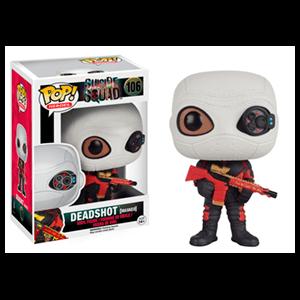 Figura Pop Escuadrón Suicida: Deadshot con Máscara