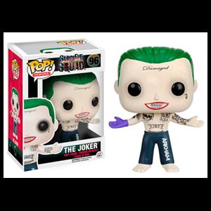Figura Pop Escuadrón Suicida: Joker sin Camiseta