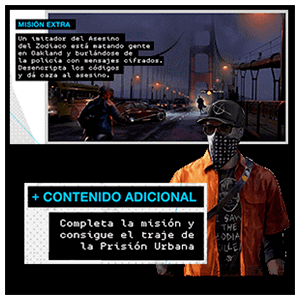 Watch Dogs 2 - DLC El Asesino del Zodiaco