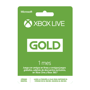 1 Mes Xbox Live Gold