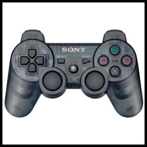 Controller Sony Dualshock 3 Gris Transparente