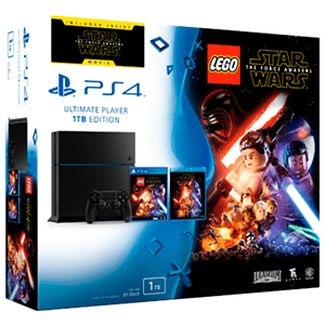 PlayStation 4 1Tb + LEGO Star Wars El Despertar de la Fuerza