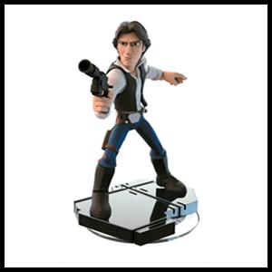 Disney Infinity 3.0 Figura Han Solo - Bundle