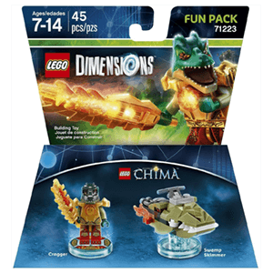 LEGO Dimensions Fun Pack: Chima Cragger