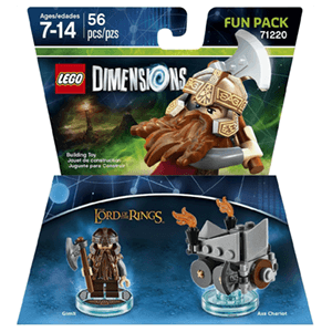 LEGO Dimensions Fun Pack: El Señor de los Anillos Gimli