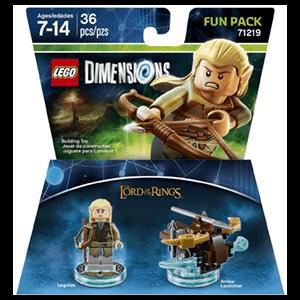 LEGO Dimensions Fun Pack: El Señor de los Anillos Legolas