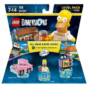 LEGO Dimensions Level Pack: Los Simpson