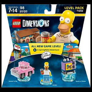 LEGO Dimensions Level Pack: Los Simpson