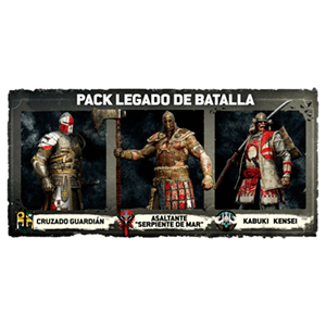 For Honor + DLC 3 trajes de héroes