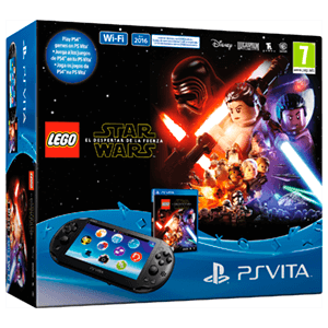 Ps Vita 2000 + Lego Star Wars