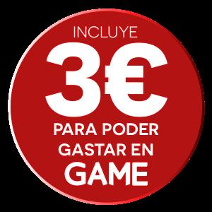 Dto. 3€ MGE en tu Proxima compra en GAME
