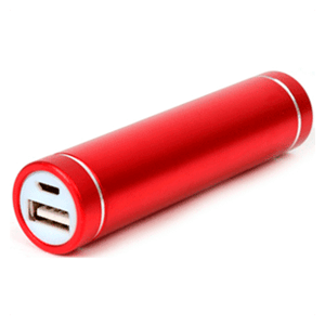 Bateria 2200mAh Platinet Rojo Power Bank