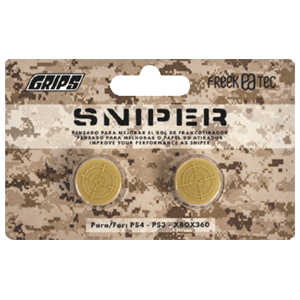 Grips Sniper Freektec PS4/PS3/X360